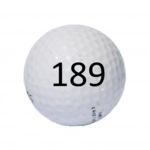 Image of Golf Ball #189