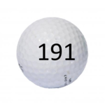 Image of Golf Ball #191
