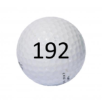 Image of Golf Ball #192