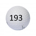 Image of Golf Ball #193