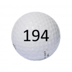 Image of Golf Ball #194