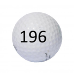 Image of Golf Ball #196