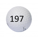 Image of Golf Ball #197