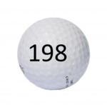 Image of Golf Ball #198