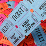 IFMA DFW 2020 Golf Tournament - Default Image of Raffle Tickets (5)