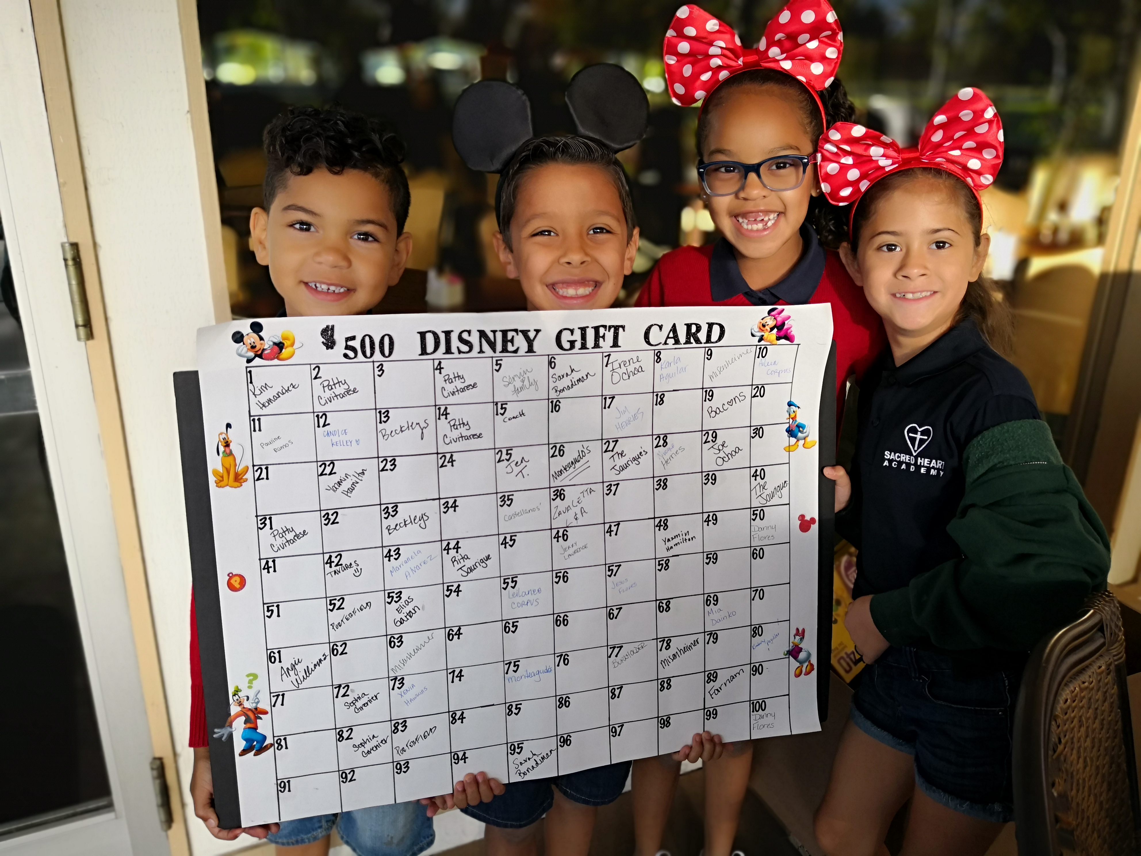 SHA Open - Default Image of Opportunity for $500 Disney Gift Card