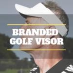 Image of Branded Golf Visor Promotional Product