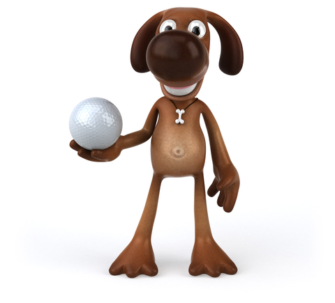 Putts for Paws • Benefitting The Little Red Dog - Default Image of Tee, Green, Hole Sign Sponsor