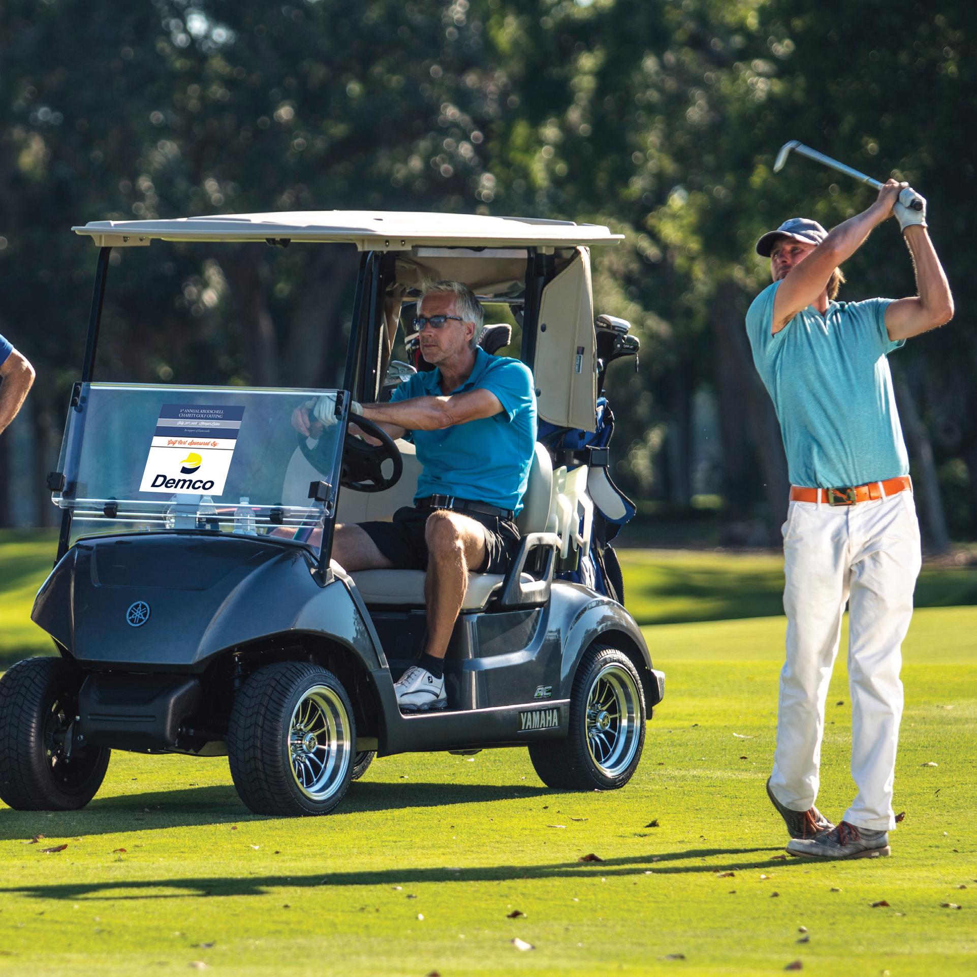 10th Annual Kroeschell Charity Golf Outing - Default Image of Golf Cart Sponsor