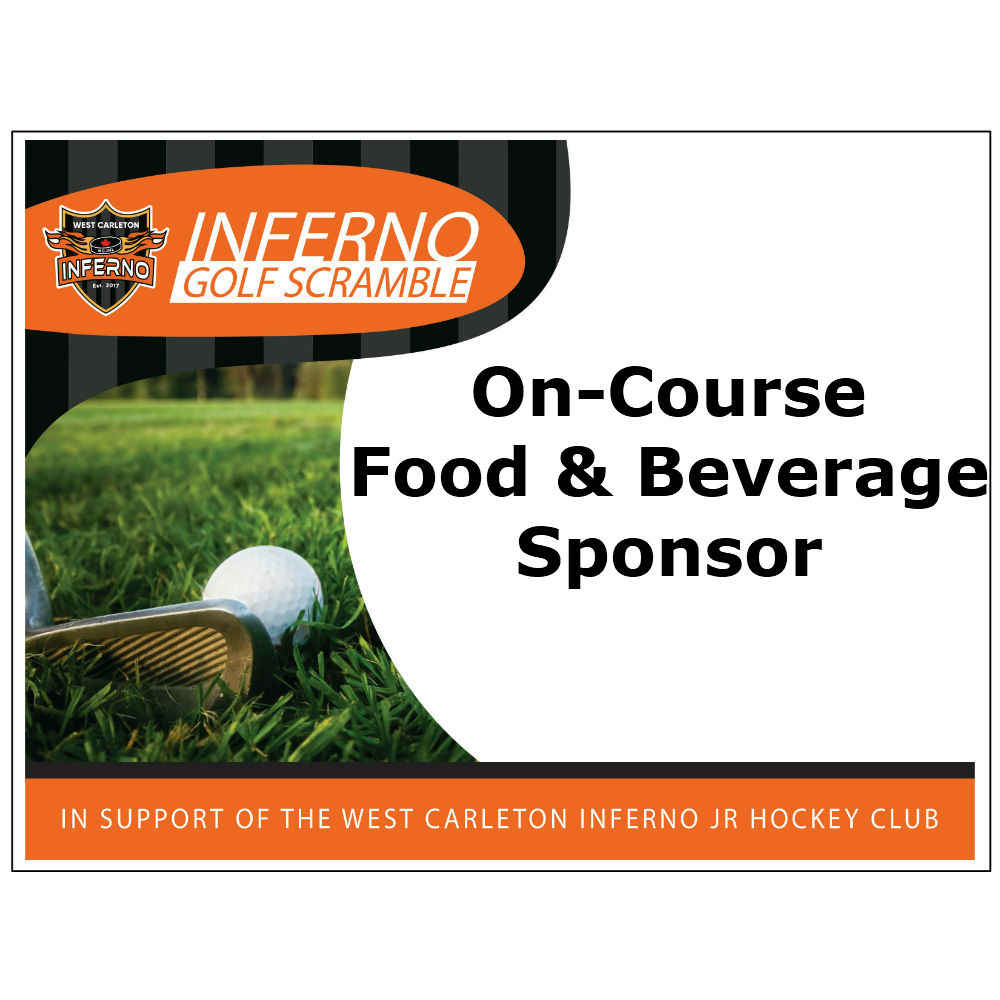 2nd Annual Inferno Golf Scramble - Default Image of On-course Food & Beverage Sponsor