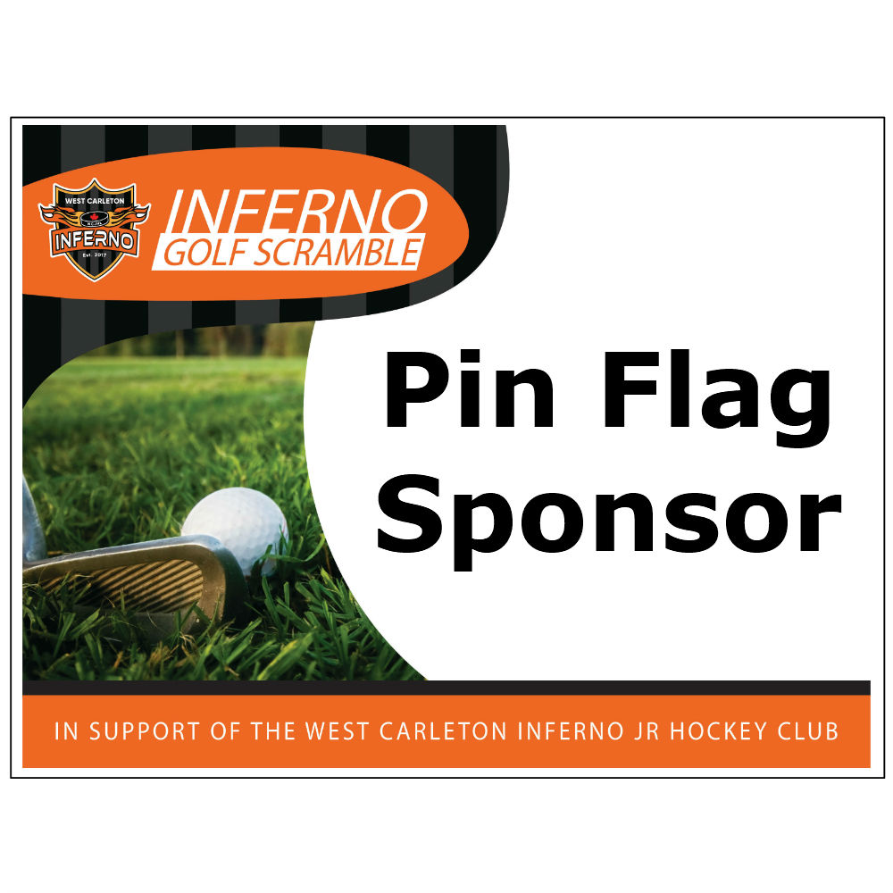 2nd Annual Inferno Golf Scramble - Default Image of Pin Flag Sponsor