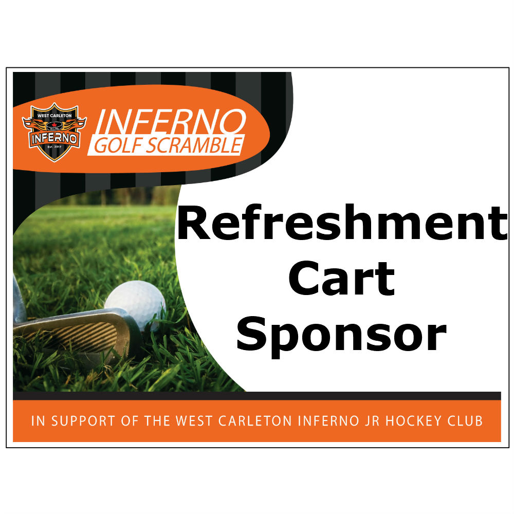 2nd Annual Inferno Golf Scramble - Default Image of Refreshment Cart Sponsor
