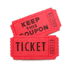 WEST ORANGE HIGH SCHOOL FOOTBALL TOURNAMENT HOSTED BY CREWS AND PESQUERA, P.A. - Default Image of RAFFLE TICKETS