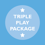 Image of Triple Play Package with Mulligan