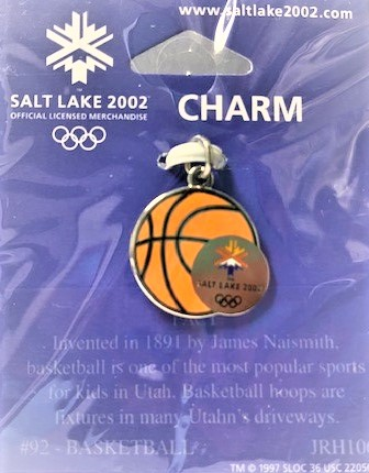 """Family Promise Salt Lake 1st Annual Celebrity Virtual Concert & Golf  Fundraiser               """"A Chip In Fore Homeless Families""""                                   September 25 & 28th               Online  and - Default Image of Basketball Charm"""