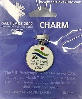 "Family Promise Salt Lake 1st Annual Celebrity Virtual Concert & Golf  Fundraiser               ""A Chip In Fore Homeless Families""                                   September 25 & 28th               Online  and - Default Image of Salt Lake Paralympic Charm"