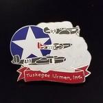 Image of Tuskegee Airmen lapel pin