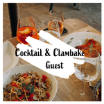 Image of Cocktail Hour & Clambake Guest Ticket