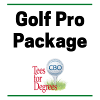 CBO's 8th Annual Tees for Degrees - Default Image of Golf Pro Package