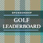 Image of Golf Leaderboard Sponsor