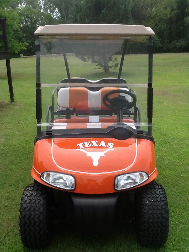 Horns Up Golf Classic - Default Image of Single Rider Cart