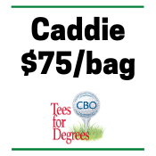 CBO's 8th Annual Tees for Degrees - Default Image of Caddie