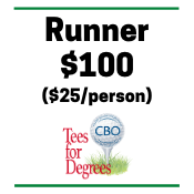 CBO's 8th Annual Tees for Degrees - Default Image of Runner