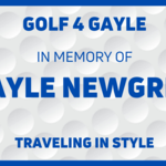 """Image of Golf Cart """"In Memory of ____"""" License Plate"""