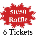 Image of (6) 50/50 Tickets