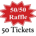 Image of (50) 50/50 Tickets
