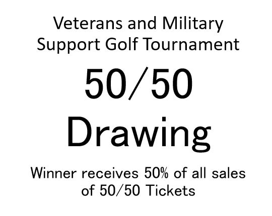 Veterans and Military Support Golf Tournament - Default Image of 50/50 Drawing Tickets