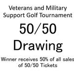 Image of 50/50 Drawing Tickets