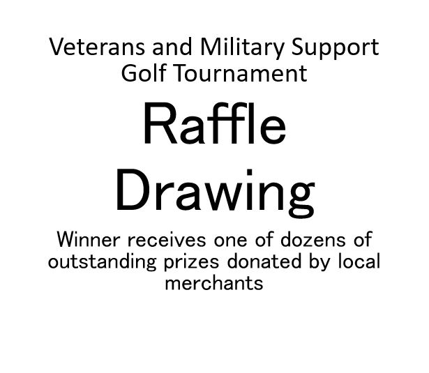 Veterans and Military Support Golf Tournament - Default Image of Raffle Drawing Ticket