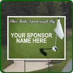 Image of Tee Sign Sponsorship
