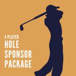 Image of Hole Sponsor w/ Foursome