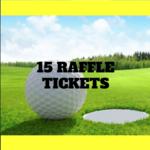 Image of 15 Raffle Tickets