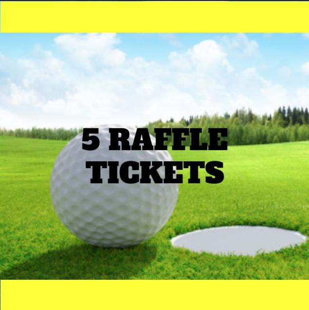 15th Annual Summit Golf Classic - Default Image of 5 Raffle Tickets