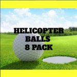 Image of Helicopter Ball 8 Pack