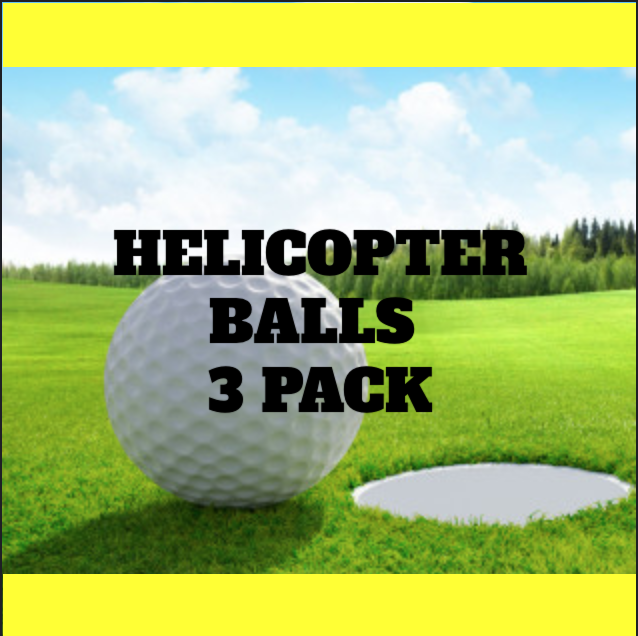 15th Annual Summit Golf Classic - Default Image of Helicopter Ball 3 Pack