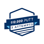 Image of $10,000 putt (3 qualifying attempts)