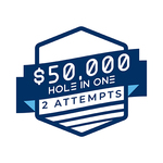 Image of $50,000 Hole in one (2 qualifying attempts)