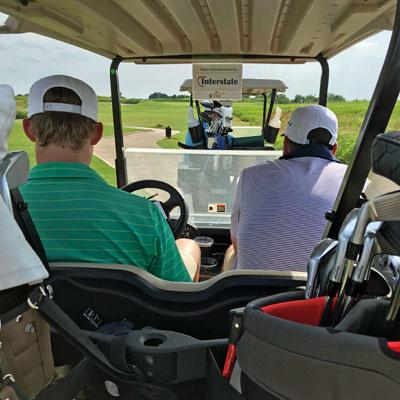 IFMA DFW 2021 Golf Tournament - Default Image of Player Cart Sponsor