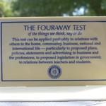 Image of Four Way Test Sponsor