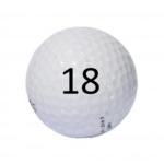 Image of Golf Ball #18