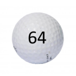 Image of Golf Ball #64