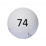 Image of Golf Ball #74
