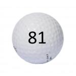 Image of Golf Ball #81
