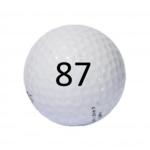Image of Golf Ball #87