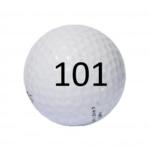 Image of Golf Ball #101