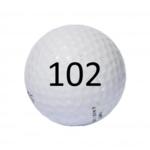 Image of Golf Ball #102